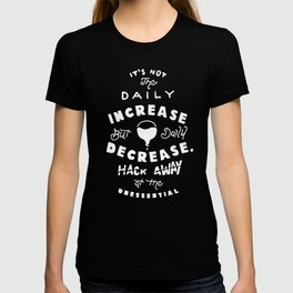 Bruce Says: Decrease T-shirt
