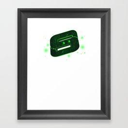 Storm Tech Green Framed Art Print