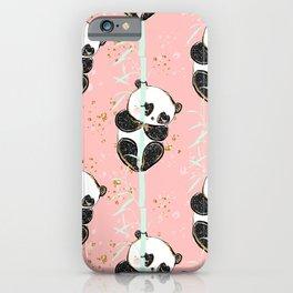 Panda Pattern 07 iPhone Case
