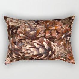 Woodland Pinecones Rectangular Pillow