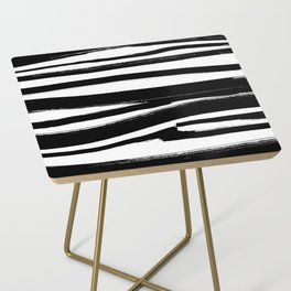 Stripes - Fusion of pen strokes Side Table