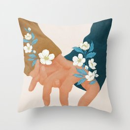 In Love I Throw Pillow