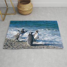 Penguin clique Rug