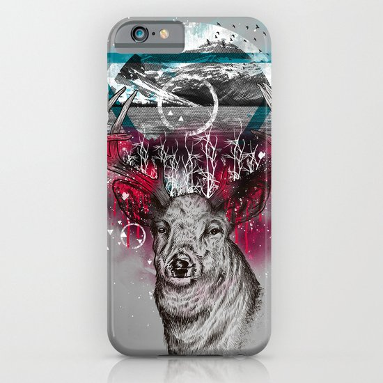 Cosmic Deer iPhone & iPod Case