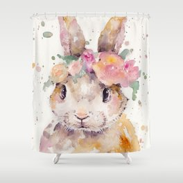Little Bunny Shower Curtain