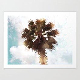 Glowing Palm Art Print