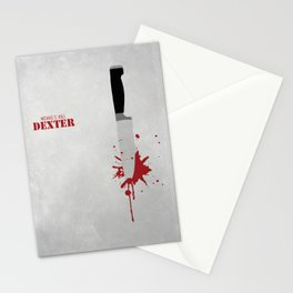 DEXTER - MINIMAL Stationery Cards
