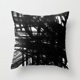 Moderm Railways Throw Pillow