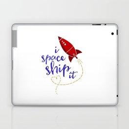 I Space Ship It Laptop & iPad Skin