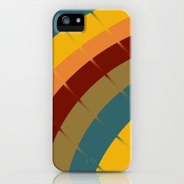 Modern days iPhone Case