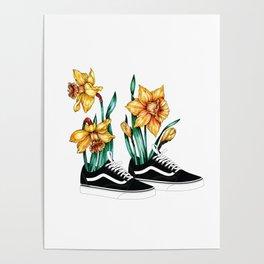 Vans & Narcissus Poster