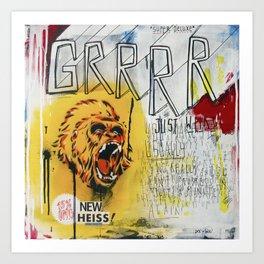 GRRRR Art Print
