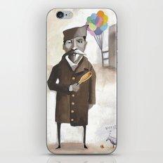 Alferd Packer's Uneaten Corn Dog iPhone & iPod Skin