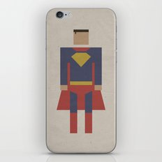 Man of Steel Retro iPhone & iPod Skin