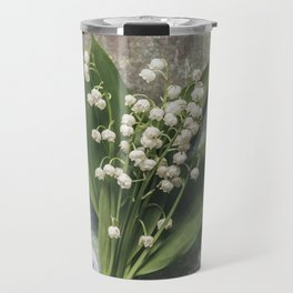 Beautiful Lily Of The Valley Travel Mug