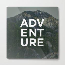 Adventure - Pine Mountain Metal Print