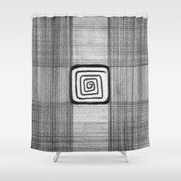 Hypnotartan Shower Curtain