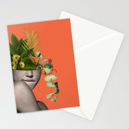 LADY FLOWERS XII Stationery Cards