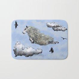 Flying sheep Bath Mat