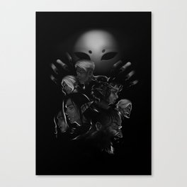 Curse of the Raven Queen Canvas Print