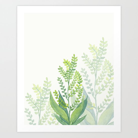 Botanical vibes 06 Art Print