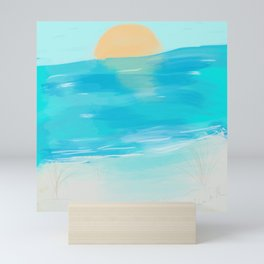 salty set Mini Art Print