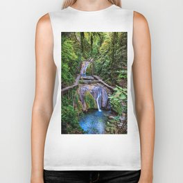Valley of 33 waterfalls Biker Tank