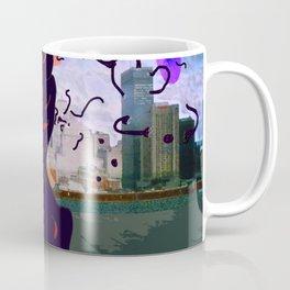 Dark Storm upon a City Coffee Mug