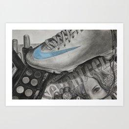 Seventeen Things Art Print