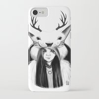 wildlife iPhone & iPod Cases featuring Wildlife by Lilyloca