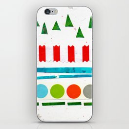 Trees, Snow & Baubles iPhone Skin