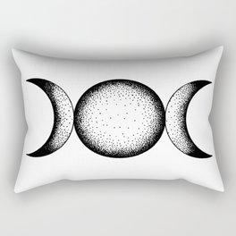Triple Moon Rectangular Pillow