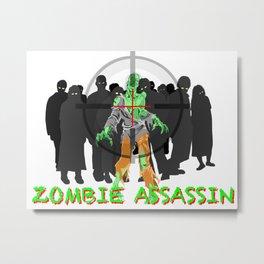 Z Assassin Metal Print