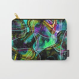 Bright abstraction 7 Carry-All Pouch