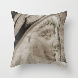 Lady Angel Celestial Woman Spiritual Art A145 Throw Pillow