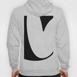 More than Shape / Capital Letter C Hoody