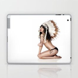 Jenny in Headdress Laptop & iPad Skin