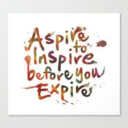 Morning Inspiration Canvas Print