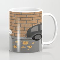 cookie Mugs featuring Cookie by Laugh Your Head Off