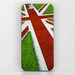 UK track and field iPhone Skin