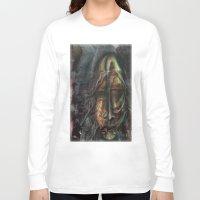 dexter Long Sleeve T-shirts featuring Dexter  by John Hansen