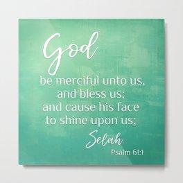 Psalm 61 Metal Print