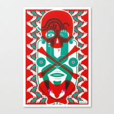 The Body Canvas Print