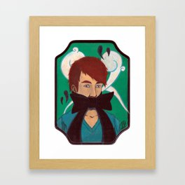 HUSH (Little Baby) Framed Art Print
