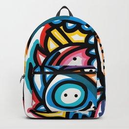 Dreaming Graffiti Art Monsters by Emmanuel Signorino© Backpack