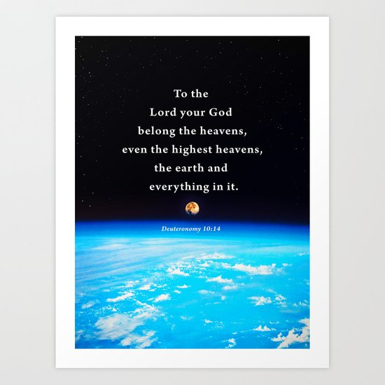 The Highest Heavens Art Print