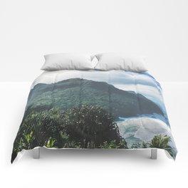 Na Pali Coast Kauai Hawaii Comforters