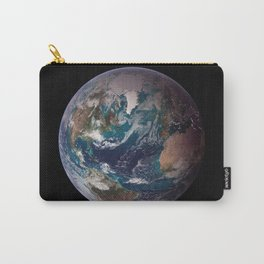 The Blue Marble - Western Hemisphere - Earth From Space Carry-All Pouch