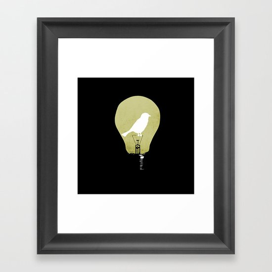 ideas take flight Framed Art Print