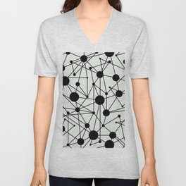 We're All Connected Unisex V-Neck